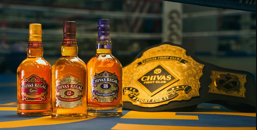 Chivas Regal, бленд, виски, Шотландия, Grande Champagne